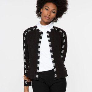 Nic + Zoe Dash for It Jacket with Fringe